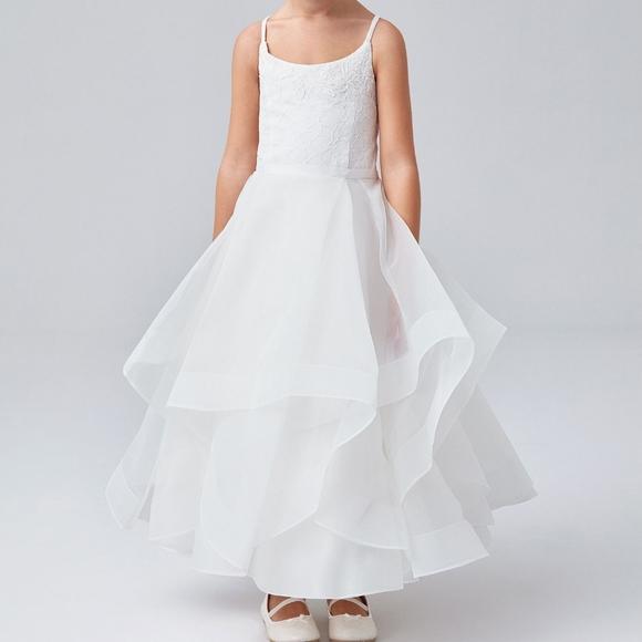 David's Bridal flower girl dress 🌺🌸🌼
